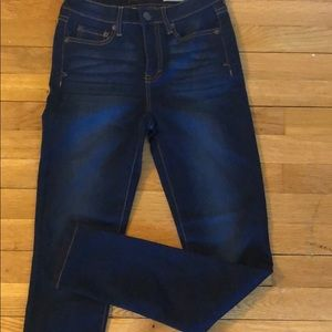 High waisted jeans size 0